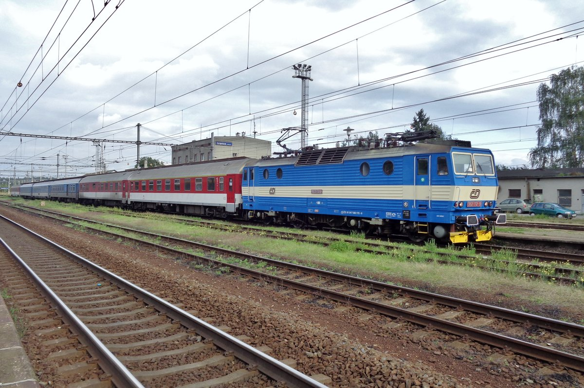 CD 362 172 steht am 22 September 2017 in Hranice nad Morave.