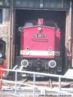 112 547 im DB Museum in Halle (Saale) am 5.7.15
