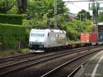 ITL/283929/185-548-5-der-itl-fuhr-am 185 548-5 der ITL fuhr am 31.07.13 mit einen intermodal durch hh-harburg